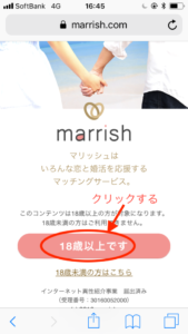 真剣な出会いができるマリッシュ(marrish)の使い方とは?